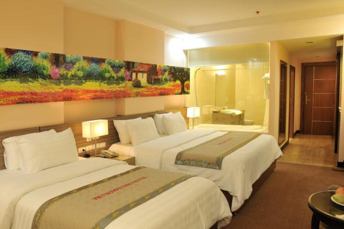 Phòng nghỉ hiện đại theo phong cách Châu Âu